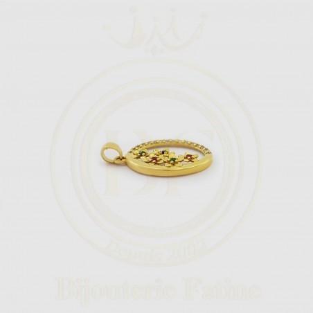Chaîne Pendentif trés magnifique en or 18 carats
