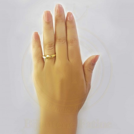 Bague originale en or 18 carats