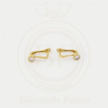 Boucles très séduisantes en or 18 carats