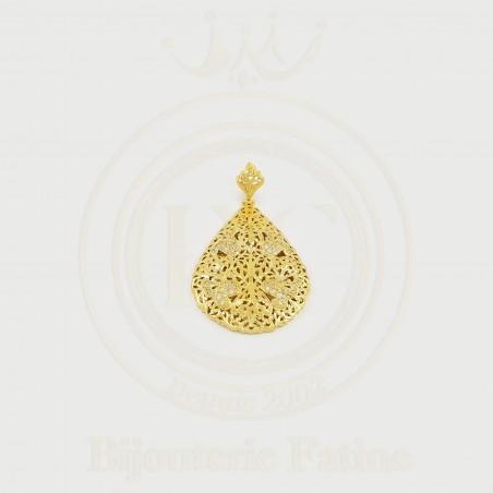 pendentif forme originale en Or 18 carats