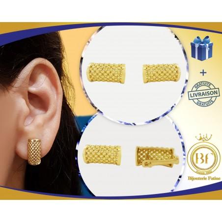 Boucles d'Oreilles 193 de luxe en or 18 carats