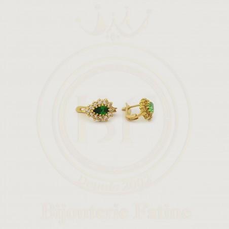 Boucles  tellement agréables en or 18 carats
