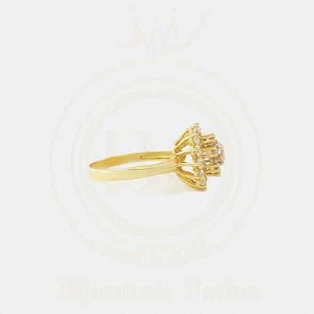 Solitaire magnifique en or 18 carats