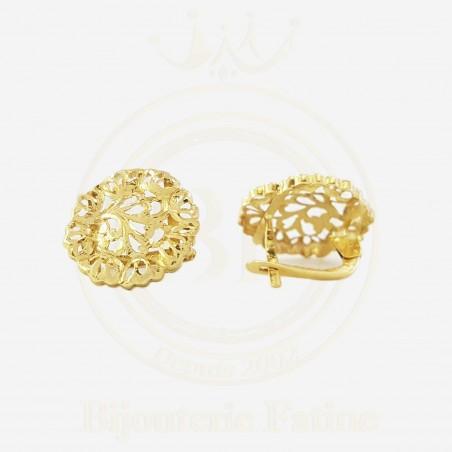 Boucles d'Oreilles 326 très chic en or 18 carats
