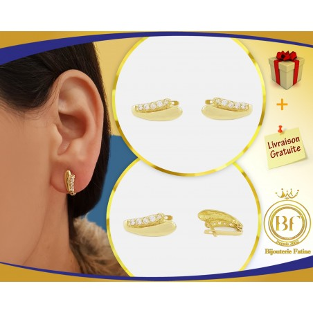 Boucles d'oreilles enfants 148 en Or 18 carats