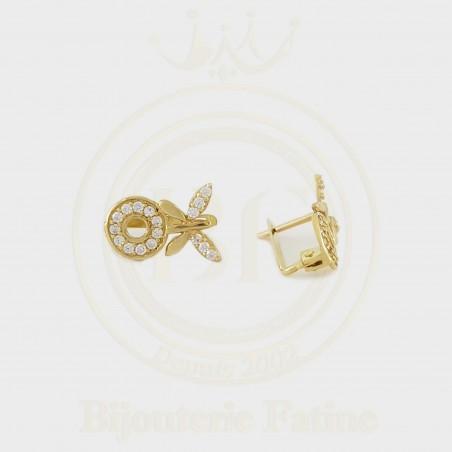 Boucles d'oreilles enfants 171 en Or 18 carats