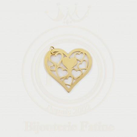 Chaîne Pendentif magnifique en or 18 carats