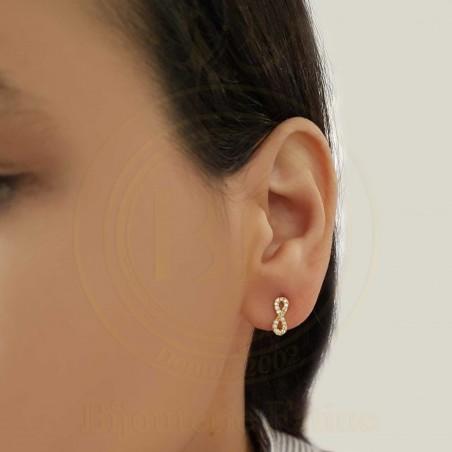 Boucles d'oreilles d'enfants 162 en Or 18 carats