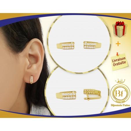 Boucles d'oreilles d'enfants 166 en Or 18 carats