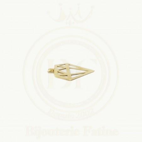 Pendentif dimanda magnifique en or 18 carats