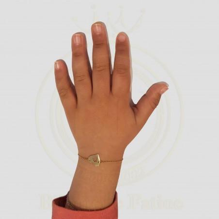 Gourmette Enfants  en or 18 carats