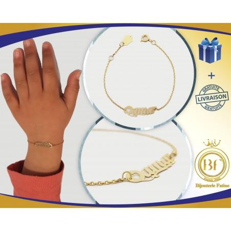 Gourmette Enfants magnifique en or 18 carats