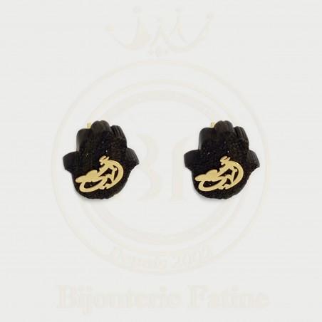 Boucles d'oreilles 297 très adorables en Or 18 carats