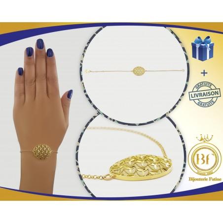 Gourmette 378 très chic en or 18 carats