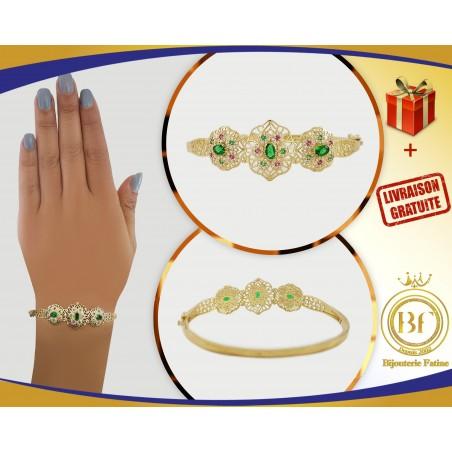 Bracelet chic et pratique en or 18 carats