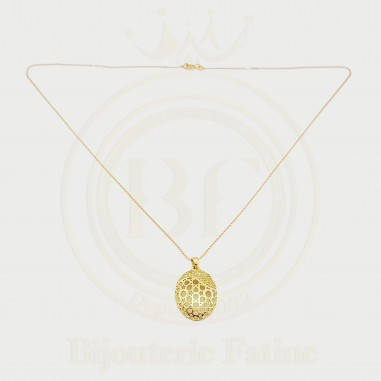 Chaîne Pendentif tellement élégante en or 18 carats