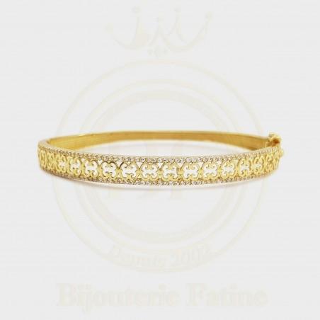 Bracelet  chic et très original en or 18 carats