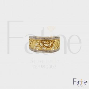 Bague forme originale en or 18 carats