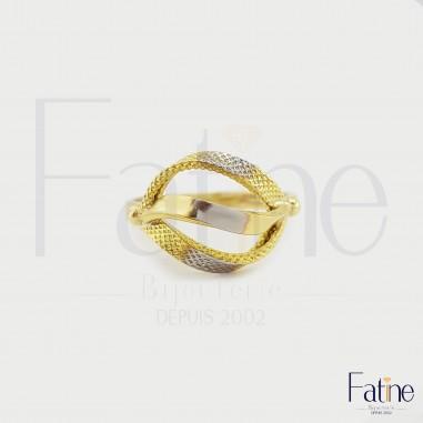 Bague ananassa de luxe en Or 18 carats
