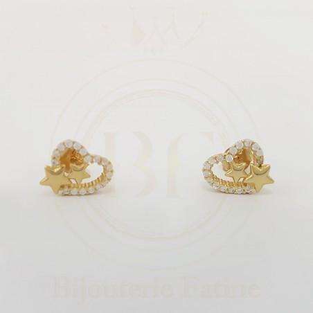 Boucle de luxe en Or 18 carats
