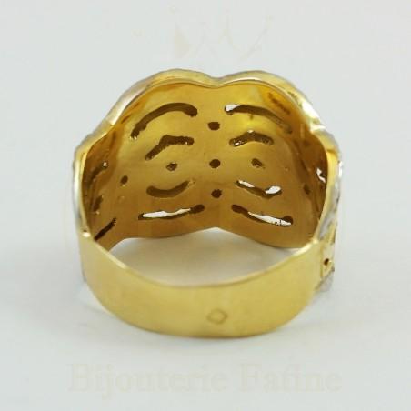 Bague d'une beauté irrésistible en or 18 carats