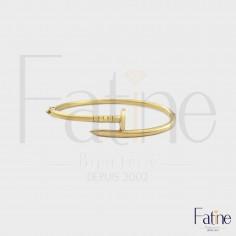 Bracelet Clou en or 18 carats