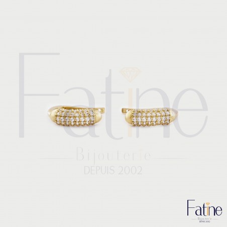 Boucles 1038 en or 18 carats