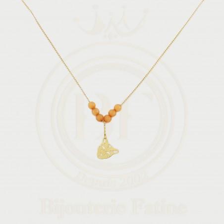 Chaîne Pendentif Panthère en or 18 carats