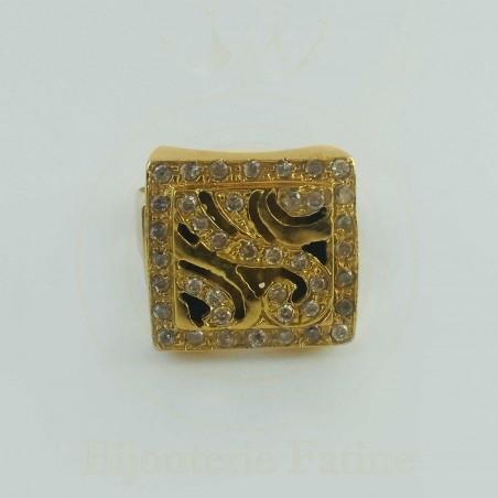 Bague 113 chic et très originale en or 18 carats