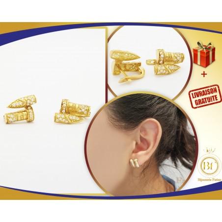 Boucles d'oreilles 160 en or 18 carats