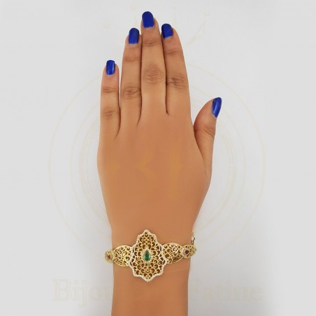 Bracelet 400 énormément chic et désirable en or 18 carats
