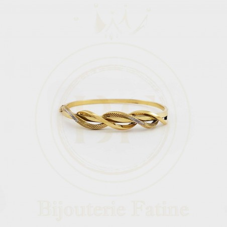 Bracelet 476 avec un design très attrayant en or 18 carats