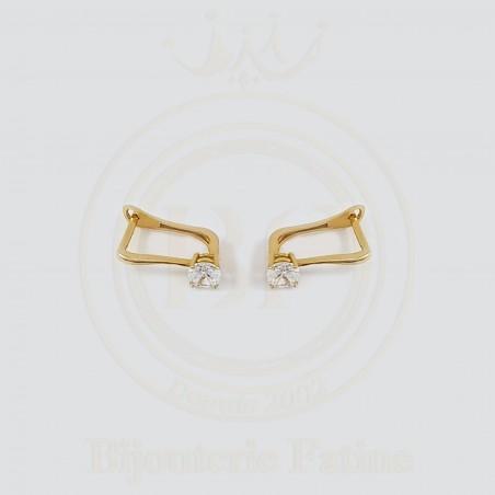 Boucles d'Oreilles très séduisantes en or 18 carats
