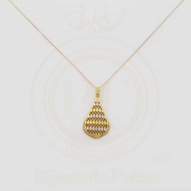 Chaîne Pendentif très moderne en or 18 carats