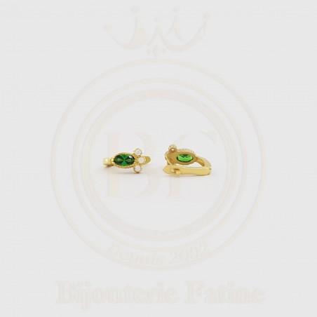 Ensemble chic et originale en or 18 carats
