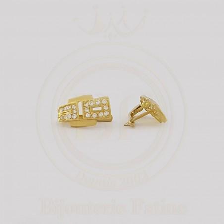 Boucle D'Oreille chic en or 18 carats