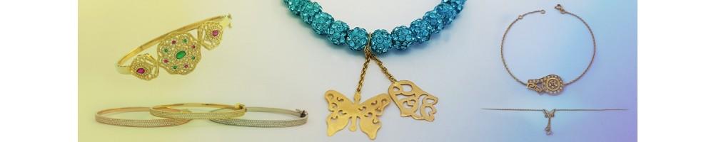 Khoulkhals en or 18 carats pour celles qui adorent la tradition