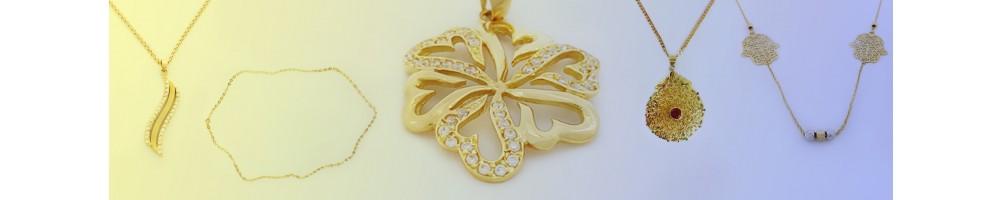 Collection des Colliers en Or 18 carats